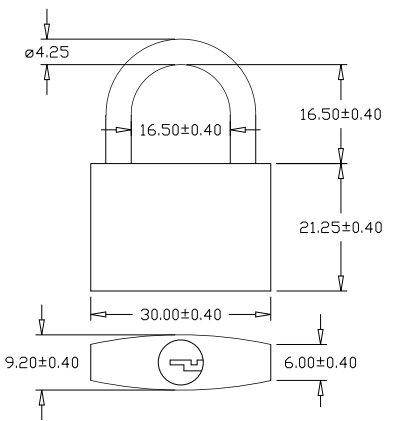 brass padlock diagram 2