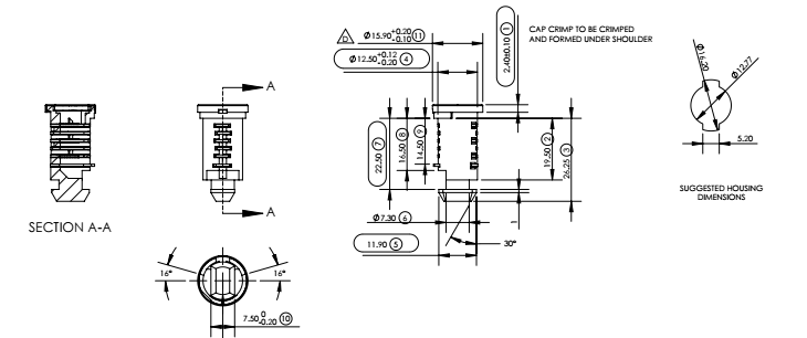 cam lock diagram 1