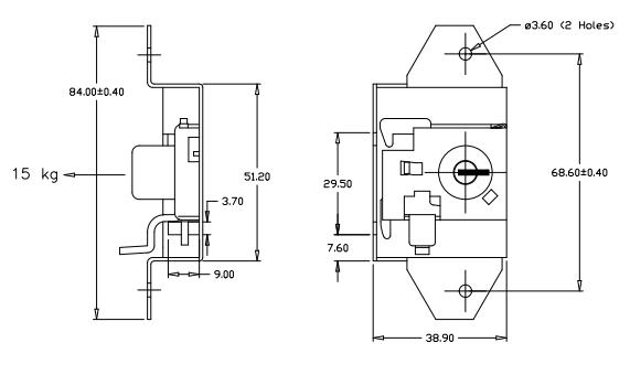 cash box lock diagram