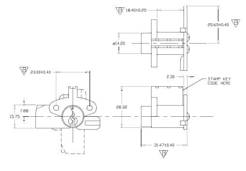 postal lock diagram