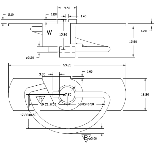 steel catch diagram